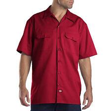 Dickies Manga Corta Camisa De Trabajo Hombre Casual regular fit