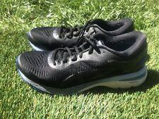Women's Asics Kayano 25 Black Blue Running Shoes Size 10