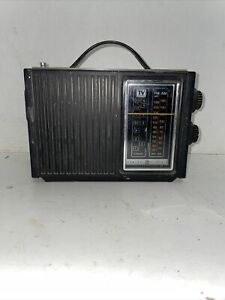 Org General Electric GE Superadio Long Range AM/FM  7-2925A Works  Radio