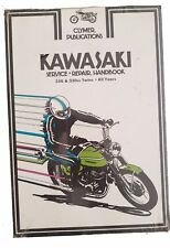 NEW Clymer Kawasaki 250cc and 350cc Twins All Years Service Repair Manual M352
