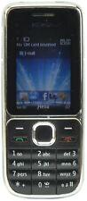 Nokia C2-01 3G Cámara Compacta fiable EE bloqueado Barato Teléfono Móvil-Negro