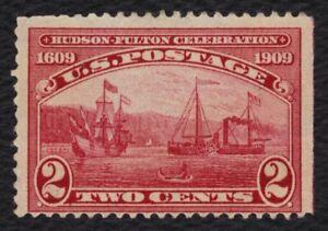#372 2c Hudson-Fulton Celebration, Unused NH No Gum [2] **ANY 4=FREE SHIPPING**