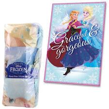 Manta polar Frozen de Disney Elegante & magnífico Niños Cobertor De Elsa Anna oficial
