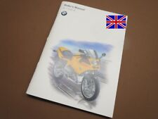 BMW R1100S Riders Owners Manual