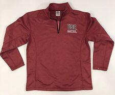 NEW South Carolina Gamecocks Sweatshirt Quarter Zip 1/2 Zip Pullover Mens Medium