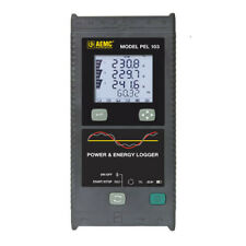 AEMC PEL 103 (2137.52) Power Energy Logger, 1-2-3-Phase, 3Sensors, LCD