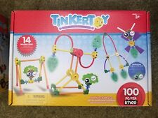 TinkerToy Adventures Building Set Construction 100 Pieces Glow in the Dark