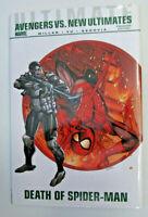 Marvel Ultimate Comics Avengers vs New Ultimates Death of Spider-Man Mark Millar