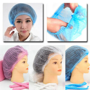 25pcs Microblading Permanent Makeup Disposable Cap Hairnet Catering Stretch Hat