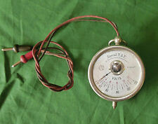 Beau voltmètre gousset  de poche «Spécial TSF à faible consommation »