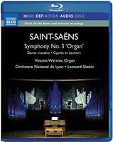Sym 3 Organ Sym Danse Macabre Cypres Et Lauriers [New Blu-ray Audio]