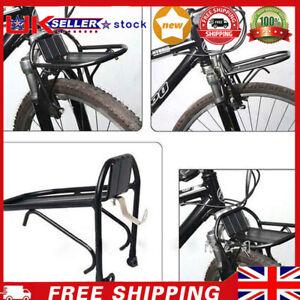HOT Aluminum Alloy Bike Bicycle Front Rack Luggage Shelf Panniers Bracket -UK