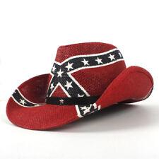 Unisex Fashion Western Style Cowboy Hat Cowgirl Hollow Wide Brim Beach Sun Hat