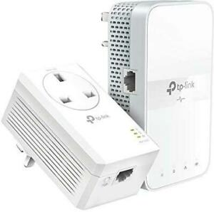 TP-Link TL-WPA7617 KIT AV1000 Gigabit Powerline ac Wi-Fi Extender Kit UK