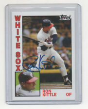 2012 Topps Archive Ron Kittle Autograph White Sox