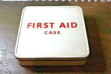 More details for vintage first aid tin box  1960s  4829