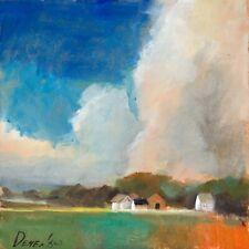 Natalia Demenko Landscape Marine Shore oil painting 8x8
