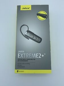 Jabra Extreme 2 Bluetooth Headset - Silver - Noise Cancelling - Open Box