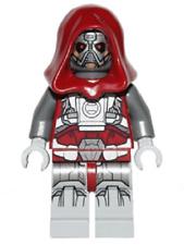 BN LEGO Minifigure Star Wars Sith Warrior villain mini figure red hood