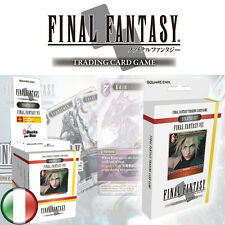 Final Fantasy Trading Card Game, Mazzo Set Iniziale VII, Italiano