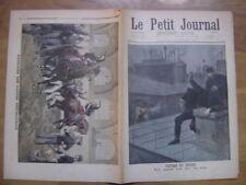 1899 LE PETIT JOURNAL 428 AGENT POLICE VICTIME DU DEVOIR EXERCICES GARDES REPUBL