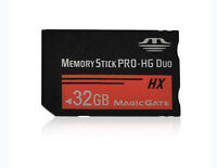 Memory Stick MS Pro Duo Memory Card for Sony 32GB PSP and Cybershot Camera