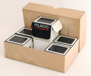 """POLAROID SLIDE MOUNTS NUMBER 633 3.24"""" X 4"""" CASE OF SIX 16 COUNT BOXES"""