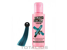 CREMA COLORANTE BLUE JADE NUM 67 - 100 ml CRAZY COLOR