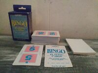 Vintage Lucky Bingo Playing Cards complete