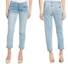 NWT 7 For All Mankind Josefina Skinny Boyfriend Jeans Palo Alto Light 30