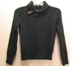NEW $135 POLO RALPH LAUREN Boys Sweater size M 10 12 NWT Green