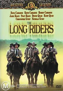 The Long Riders (DVD, 2004, R4) - Liked New, VG Condition - Multiple Language