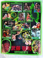 WWE, NJPW, Wrestling, Poster ( alt version) Keiji Muto,  Great Muta, rare, new
