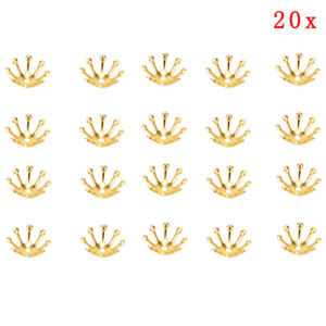 20pcs Filigree Flowers Bead Cap Connectors Charms For Jewelry Findings10mm J_cd