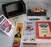 96656 Corgi GOLD James Bond 007 Aston Martin DB5~30th Anniversary Ed & Extras!