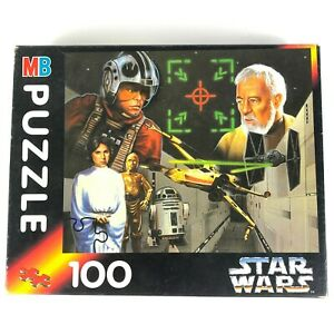 Vintage Star Wars Jigsaw Puzzle 100 Piece 1994 Complete Made In EU