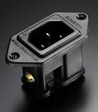 Furutech FI-09 (R) Rhodium IEC Socket/Inlet. High End Performance. New. DECO