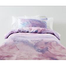 Kids Children's Girls Pink Purple Dreamer Quilt Doona Cover Set Single Bed