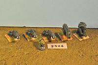 alien xenomorph dogs 6 metal  (9526)