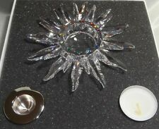 """SWAROVSKI CRYSTAL """"SOLARIS""""   CANDLE HOLDER  236719  RETIRED MINT IN BOX REDUCED"""