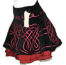 S Lolita Tribal Cosplay Emo Gothic Belly Dance Dancing SteamPunk Mini Skirt Belt
