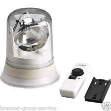FM3 Scheinwerfer flacher Sockel mit Funkfernsteuerung       170 040 1     24V