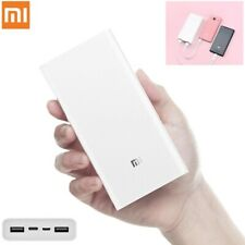 ORIGINALE Xiaomi 20000mAh Power Bank 3 USB ricarica rapida 3.0 Fast Charger mobile