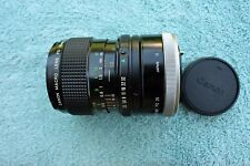 Canon New FD Macro 50mm f3.5 lens, w life-size extension tube FD 25, Excellent++