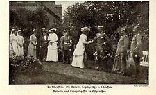 Kaiserin & Kronprinzessin v.Preussen in Allenstein Ostpreußen Bilddokument 1915
