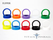 Pinball Flipper Rubber Rings - Competition Silicone - Multiple Colors - Set of 2