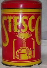 Vintage Stesco Hiker Camping Camp Stove In Can