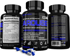 Arouse™ Best Men's Libido Enhancer Test Booster Supplement Penis Sex Pills PCT