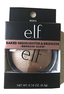 ELF Studio Baked Highlighter & Bronzer - Bronzed Glow New