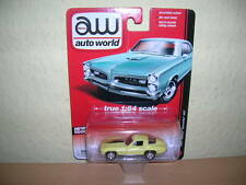 AW AUTO WORLD 1967 Chevy Corvette 427 amarillo, 1:64